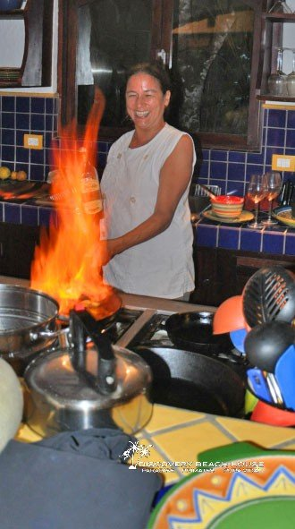 Have Chef Desiree prepare delicious and healthy meals for you in your Costa Rica beach villa