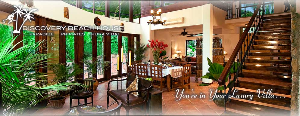 Luxury beach vacation rental Costa Rica