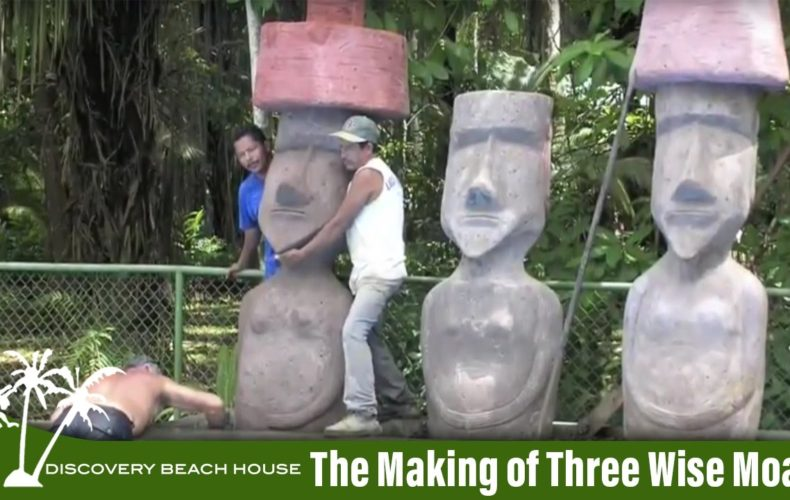 Making of the Moai