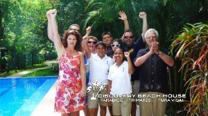 Givener Family loved their Costa Rica beach vacation.