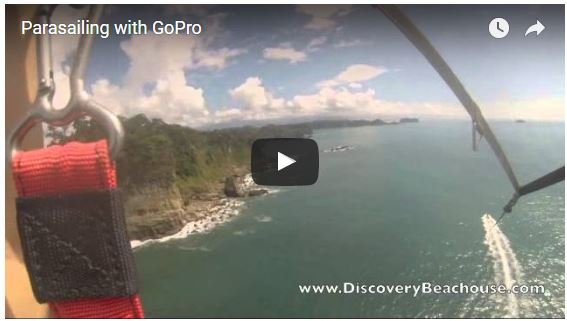 Parasailing with the GoPro Hero3