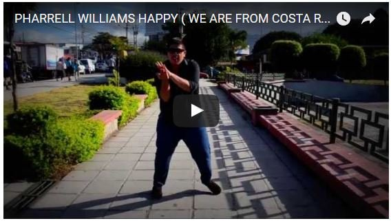 The Costa Rica Happy Dance