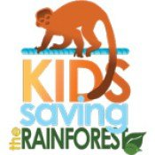 Kids Saving The Rainforest logo