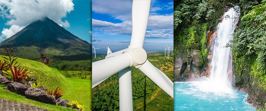 Costa Rica 50 Shades of Green Energy