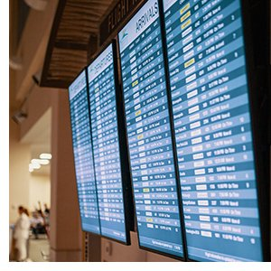 Airport Arrivals Departures